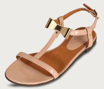 Lack-Sandale 'Easy' beige