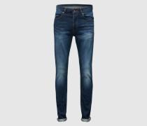 Five-Pocket-Jeans 'Clark' blau