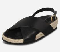 Sandale 'Natasha' schwarz