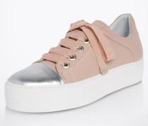 Sneaker 'Plateau' beige