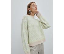 Pullover 'Pearl' grün
