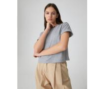 T-Shirt 'Selena' grau