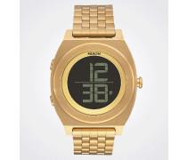 Armbanduhr 'Time Teller Digi SS' gold