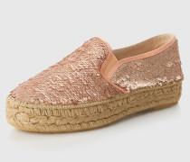 Espadrilles 'Pat' pink/silber