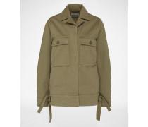 Military Jacket 'Aliya' grün