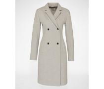 Mantel mit Wollanteil 'Odelia' grau
