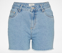 Denim Shorts 'ADPT FESTIVAL' blau