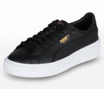 Sneaker 'Basket Platform Core' schwarz