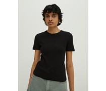 Shirt 'Perla' schwarz