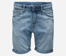 Jeansshorts in Slim Fit 'Sonic' blau