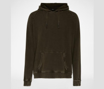 Sweatshirt mit Kapuze 'Hunter 2' grün