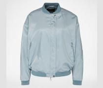 Jacke im Bomber-Stil blau