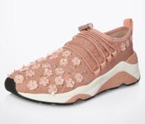 Sneaker 'Miss Lace' mit Spitzen-Verzierungen pink