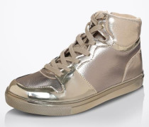 High Sneaker 'Ilane' gold