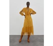 Kleid 'Tanita' gelb