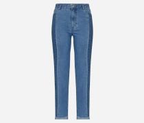 'Mia' Slimfit Jeans blau