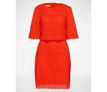 Sommerkleid 'Alana' rot/orange