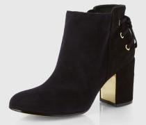 Ankle Boots 'Twiggy' schwarz
