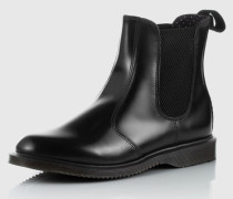Chelsea Boot aus Leder 'Flora' schwarz