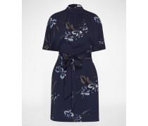 Kleid 'Akina Crepe' blau
