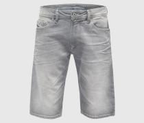 Slimfit Shorts grau