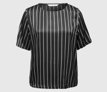Weites Print-Shirt '14693 Salli 1' schwarz/weiß