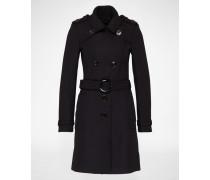 Mantel aus Wollmix 'Dagenham' blau