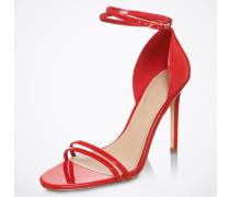 High-Heel Sandalette 'Elivia' rot