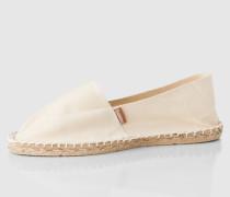 Slipper 'Classic' beige/weiß