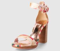 Sandale mit Blockabsatz 'Lorno' mehrfarbig