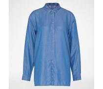 'ICON' Bluse blau