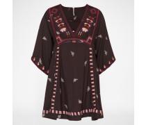 Kleid im Tunika-Stil schwarz