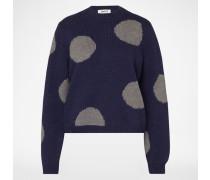 Pullover 'Tamara' blau/grau