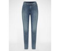 'High Spray' Skinny Jeans blau