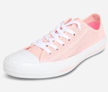 Chucks im Netz-Design pink