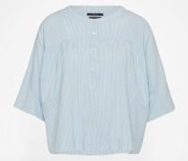 Bluse aus Lyocell blau