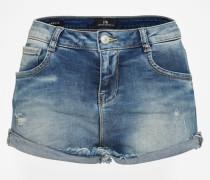 Jeansshorts mit Nieten 'Amelie' blau