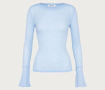 Langarmshirt 'Zehra' blau