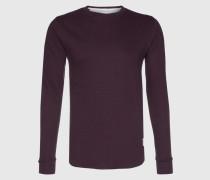 Sweatshirt 'Melton' rot