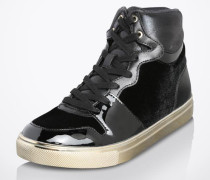 High Sneaker 'Ilane' schwarz