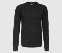 Pullover 'Anglistic' schwarz