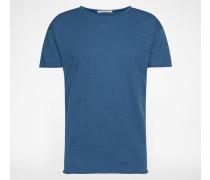 T-Shirt 'Roger Slub' blau
