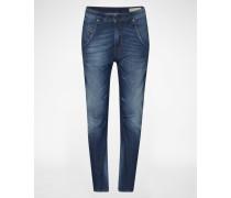 'Fayza' Jeans Tapered Fit 836W blau