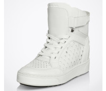 High Top Sneaker 'Pia' weiß