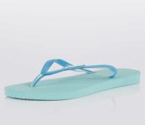 Zehentrenner-Sandale 'Slim' blau
