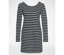 Kleid 'Damas 6385' weiß/blau