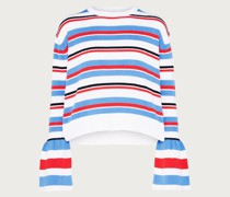 Pullover 'Paula' blau/rot/weiß