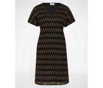Oversized Kleid 'Zag' schwarz