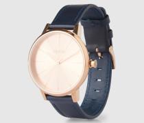 Armbanduhr 'Kensigton Leather' (Gehäuse: 33 mm) gold