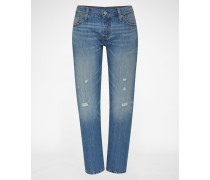 Loose Fit Denim '501® CT' blau